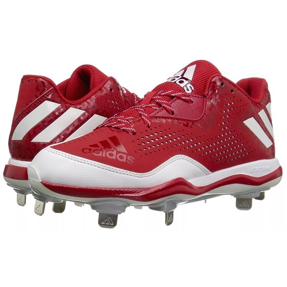 Adidas zapatos NEW 105 Power Alley 4 tacos de beisbol poshmark Rojo